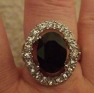 Bling blitz black ring